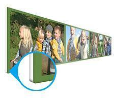 Tableau Multiphoto Forex 120x20cm