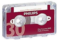 Mini-cassette 30 minutes Philips