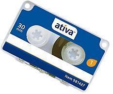 Mini cassette Ativa 30 minutes