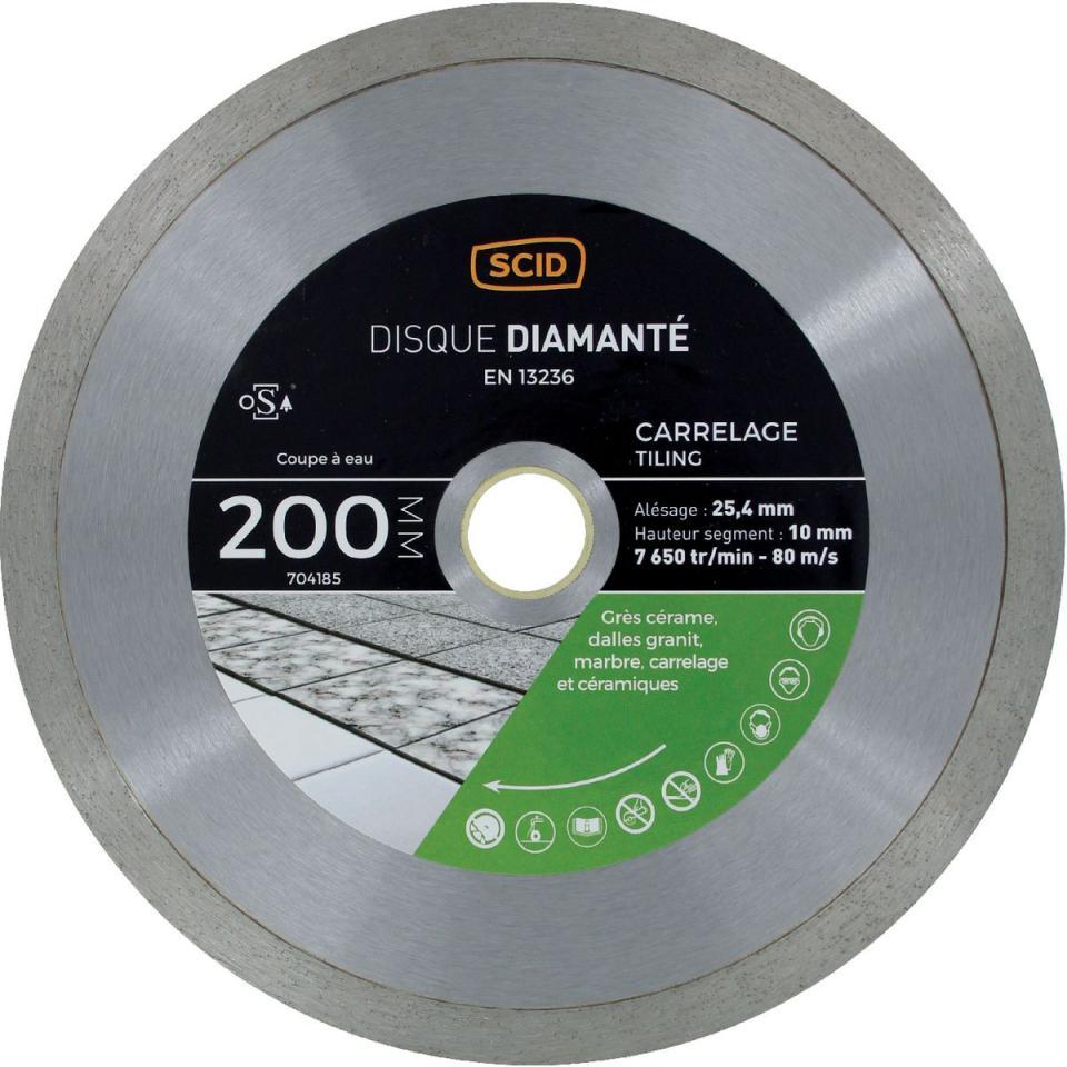 Catgorie disque diamant page 1 du guide et comparateur d 39 achat - Coupe verre diamant professionnel ...