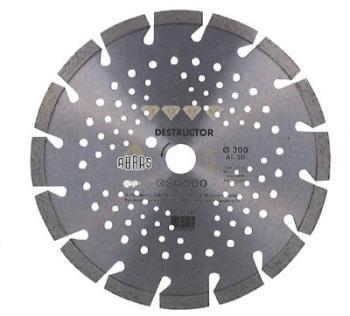 Disque diamant ventilé Destructor