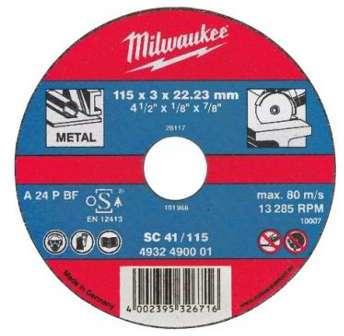 Lot 25 disques à tronçonner