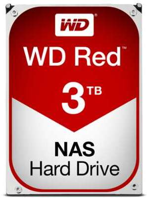 WESTERN DGTAL WD Red 3 To