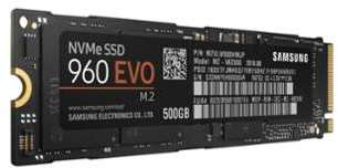 Samsung SSD 960 EVO M 2 500