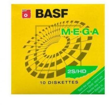 BASF Disquettes 5 25 MEGA