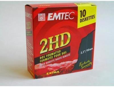 Disquettes BASF EMTEC 3 5