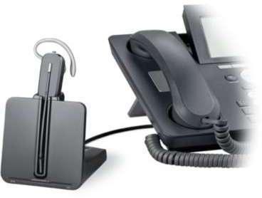 Casque micro téléphone fixe