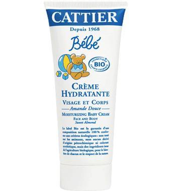 Crème hydratante pour bébé