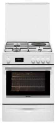 Cuisinière mixte BRANDT BCM6653W