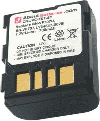 Batterie pour JVC GR-D270EX