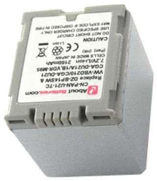 Batterie pour PANASONIC NV-GS75EG