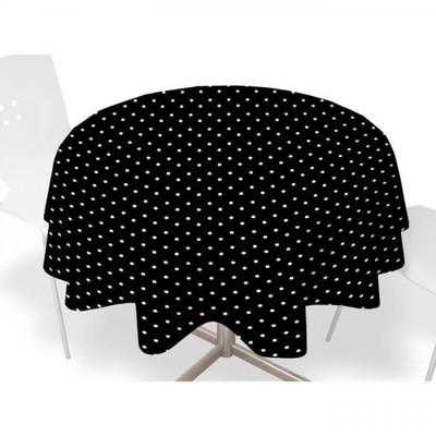 nydel nappe ronde 160cm iris gris. Black Bedroom Furniture Sets. Home Design Ideas