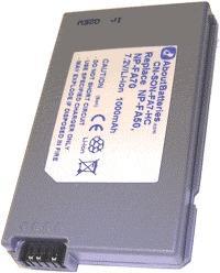 Batterie pour SONY DCR-PC55