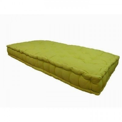 terre matelas futon goyave coton 140x190. Black Bedroom Furniture Sets. Home Design Ideas