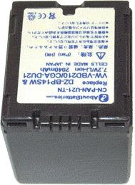 Batterie pour PANASONIC NV-GS250EG
