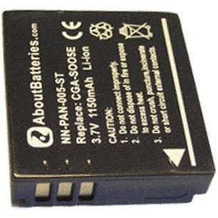 Batterie type PANASONIC CGA-S005E