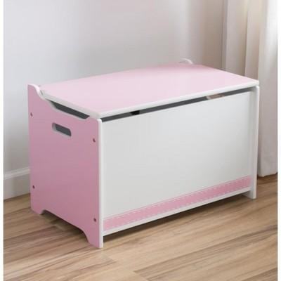 coffre jouets en bois h45cm l70cm nuage blanc. Black Bedroom Furniture Sets. Home Design Ideas