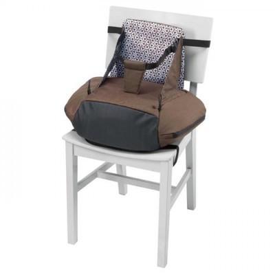 beaba chaise haute rhausseur rehausseur taupe rose. Black Bedroom Furniture Sets. Home Design Ideas