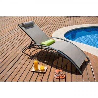 Deco csalon textilne table 4 fauteuils encastrables - Bain de soleil multiposition ...