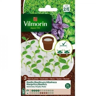 Emile huile de basilic bio nol for Vilmorin graines