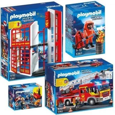 Recherche pompiers du guide et comparateur d 39 achat - Playmobil de pompier ...