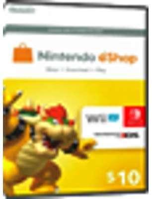 Nintendo eShop Card - 10 USD