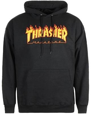 Thrasher - Sweat Capuche Flame