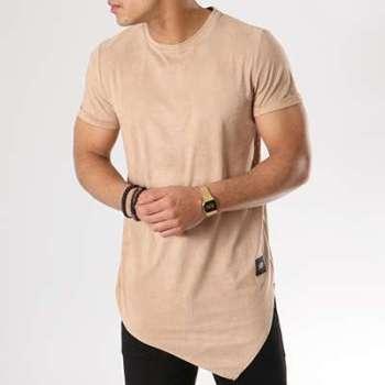 La Sortie Populaire Tee Shirt Oversize M3447CTS Beige KakiSixth June Acheter Magasins D'usine Pas Cher i39RSW