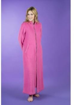 Robe de chambre hôtesse zippée