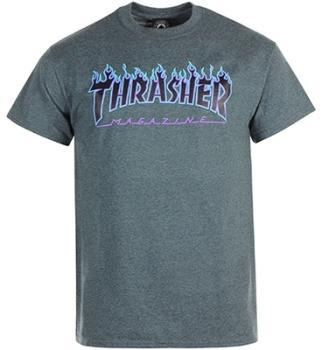 Thrasher - Tee Shirt Flame