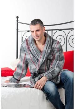 Robe de chambre et veston