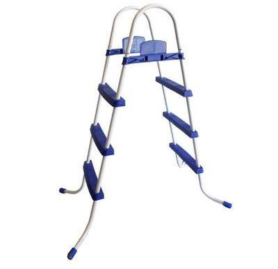 Echelle de piscine standard 3 marches inox 316 for Piscine hors sol 90 cm