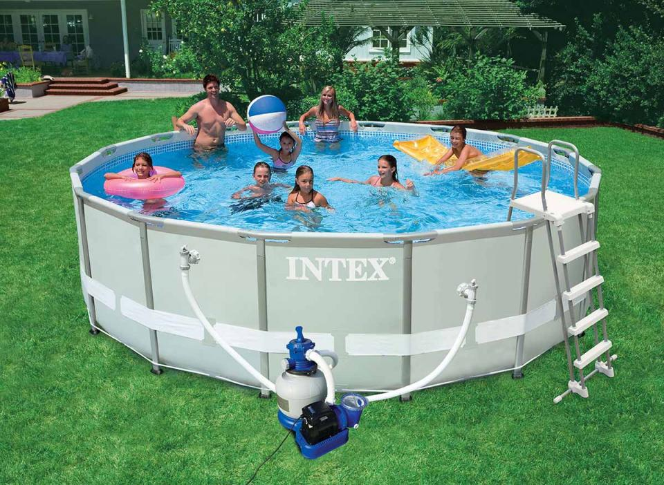 Volet de skimmer gr for Piscine intex ultra frame 4 88x1 22
