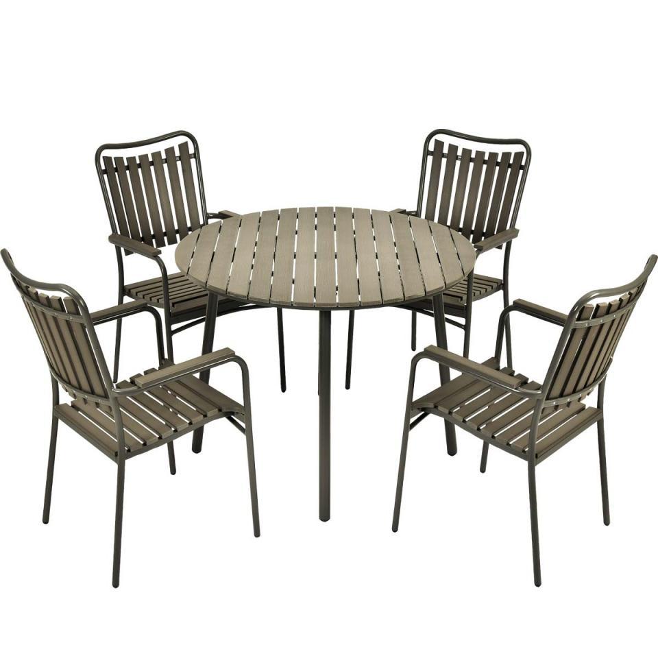 Recherche clairage jardin du guide et comparateur d 39 achat - Ensemble table et chaise de jardin en solde ...