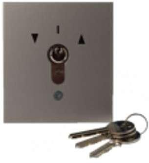 Interrupteur à clé pour porte