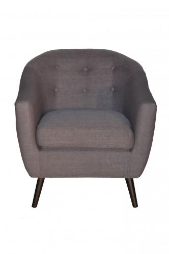 Atmosphera c fauteuil crapaud calixte h 73 cm velour n - Fauteuil style crapaud ...
