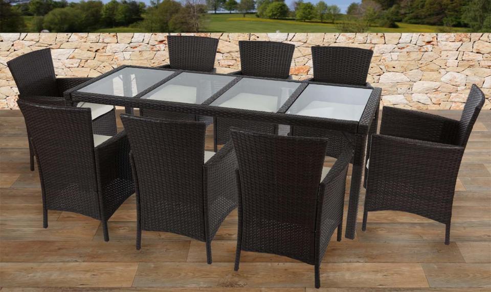 Recherche table du guide et comparateur d 39 achat for Ensemble meuble de jardin