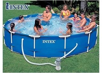 Bestway piscine tubulaire 4m12x2m01x1m22 for Aspirateur piscine 2m3 h
