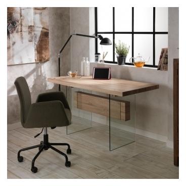 Conforama table manger comorra 6 couverts htre et - Table a manger design moderne et contemporain en verre ...