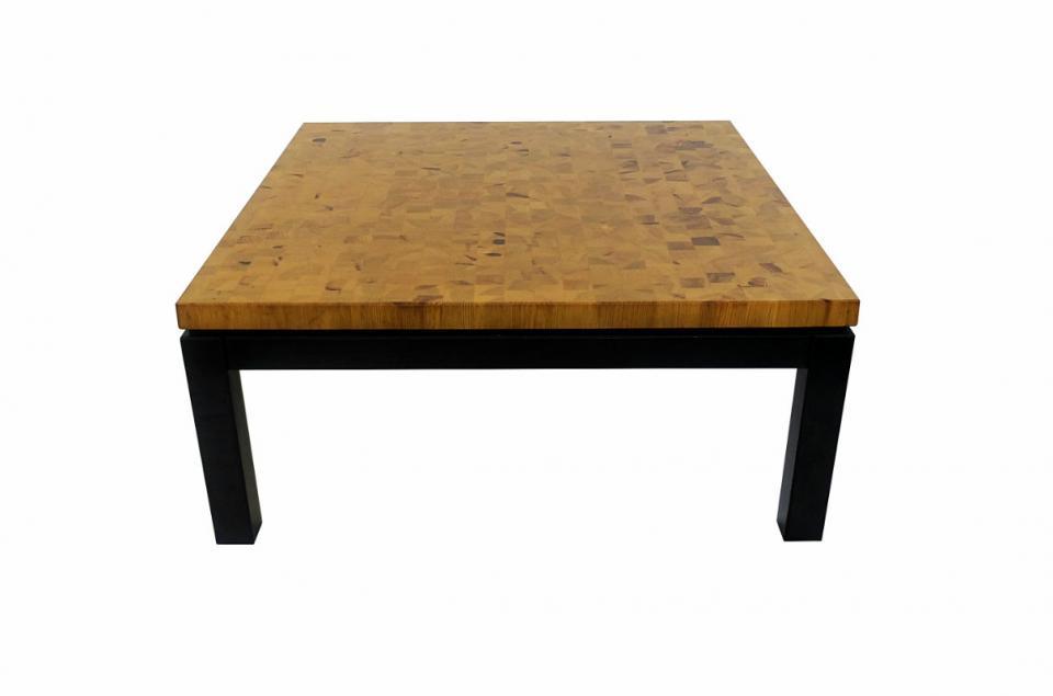 Table basse bois avec rangement bar longueur for Table basse 40 cm largeur