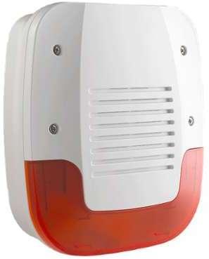 Sirène extérieure flash Radio
