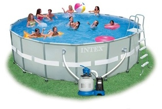 Bestway piscine tubulaire 4m12x2m01x1m22 for Piscine intex ultra frame 5 49x1 32