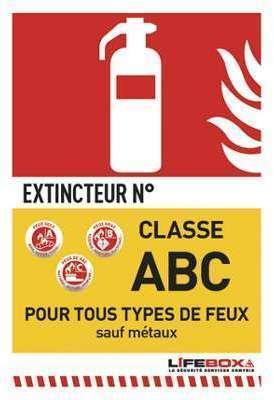 Classe ABC - Poudre polyvalente