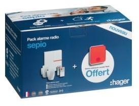 PACK SECURITE ALARME SEPIO