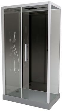 Cat gorie douche du guide et comparateur d 39 achat - Cabine de douche rectangulaire 110 x 80 ...