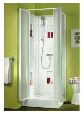 leda cparoi de douche fixe verre transparent 90 cm. Black Bedroom Furniture Sets. Home Design Ideas