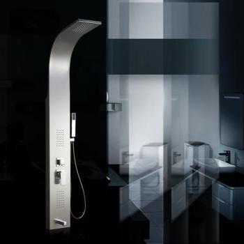 rousseau newry colonne de douche inox. Black Bedroom Furniture Sets. Home Design Ideas