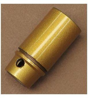 Douille petite vis E14 dorée