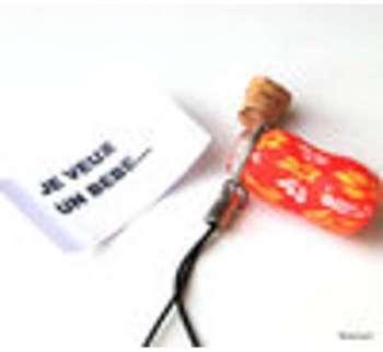 Bijou de portable message