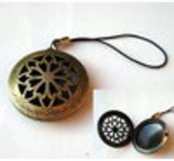 Bijou de portable métal bronze